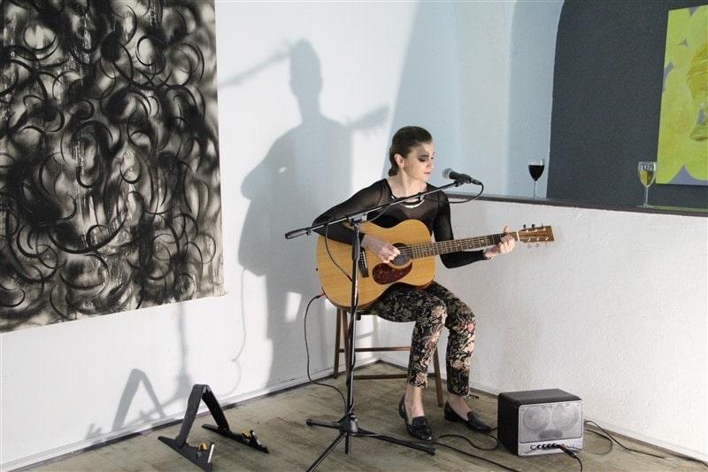Nina Horáková v Galerii u prstenu