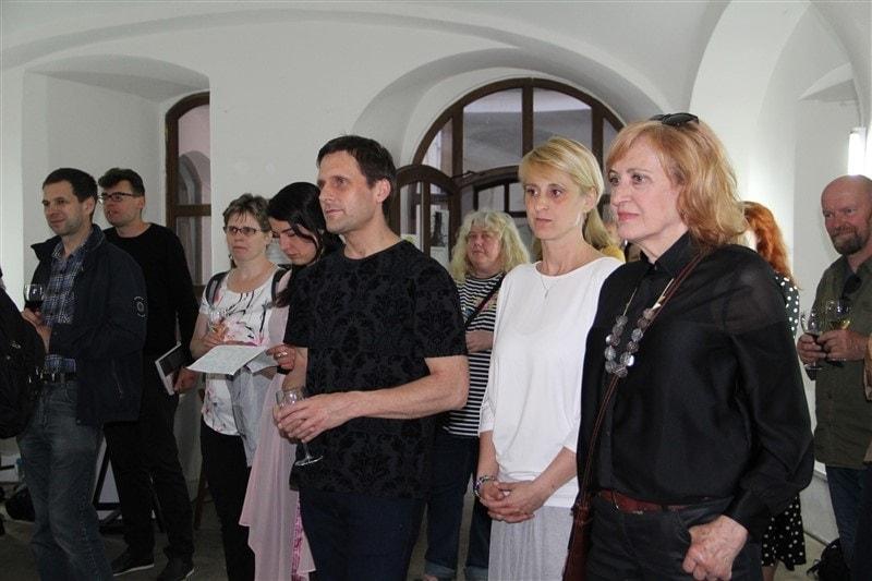 vernisáž výstavy Petry Hamplové a Petra Hampla  v Galerii u prstenu