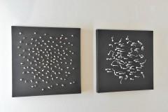 Výstava Petra Hamplové a Petra Hampla v galerii U Prstenu