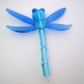 Vážka modrá